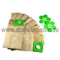 KLEENMAID SEBO VACUUM PAPER BAGS 10 PACK BOX - Click for more info